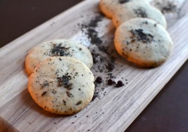 4-Ingredient Earl Grey Shortbread Cookies