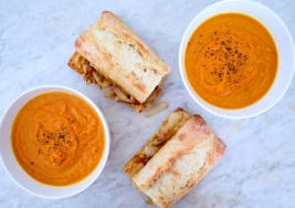 The Healthy Soup and Sandwich Combo You Can Make Between Classes