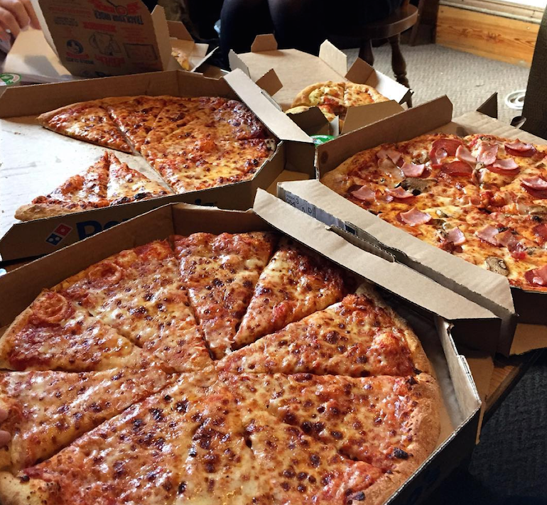 Domino's and Chill