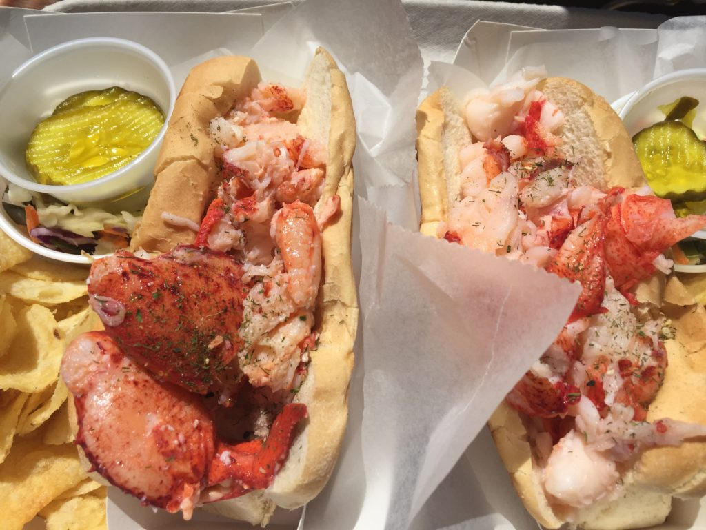 lobster sandwiches