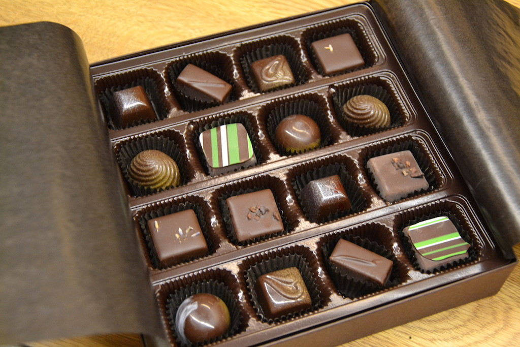 Valentine's Day chocolate