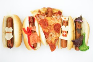 How to Dress Up Hot Dogs in Sexy Costumes, Because Halloween
