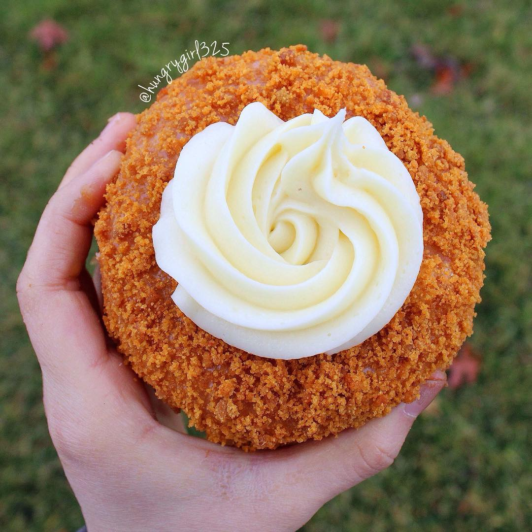 Pumpkin Spice donut