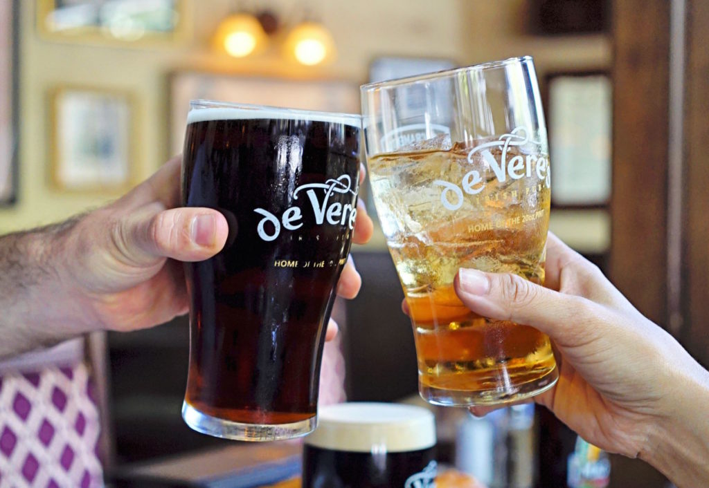 Photo courtesy of De Vere's Pub Davis on Facebook
