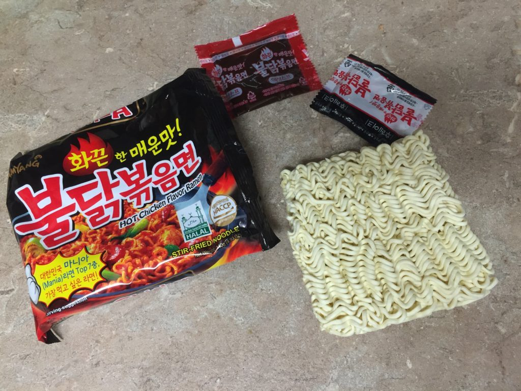 How to make korean fire noodles less spicy