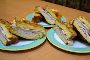 How to Make a French Toast Monte Cristo Sandwich