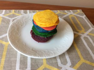 Rainbow Pancakes That Will Brighten Your Morning