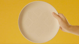This New Plate Absorbs Calories From Food (Really)