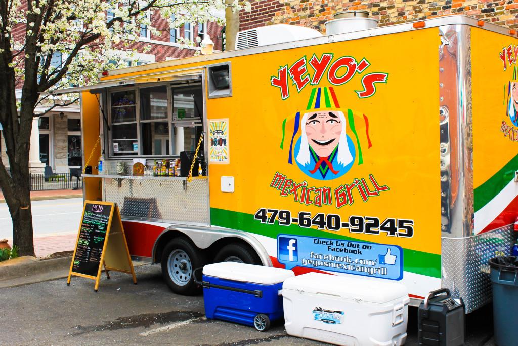 Yeyo's Taco Truck Bentonville