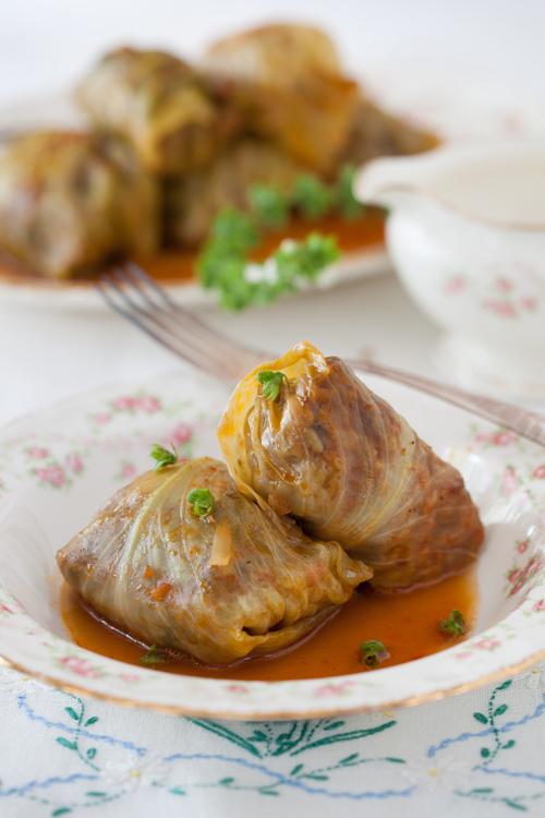 Russian comfort foods