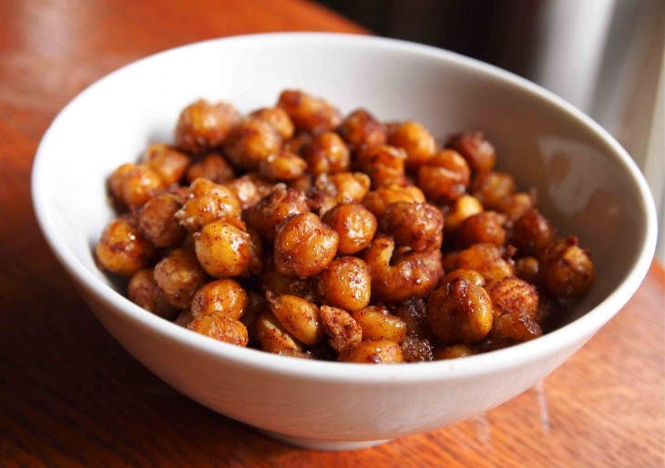 Roasted Cinnamon Sugar Chickpeas