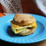 Egg and Bacon McBiscuit