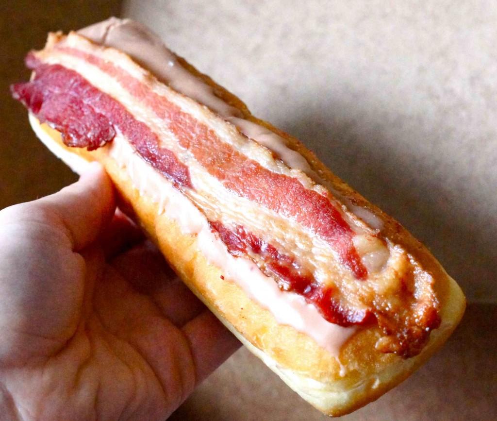 The Best Doughnut You'll Ever Have: Bennison's Maple Bacon Long John