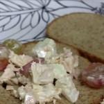 Tuna Salad with Apples, Grapes & Walnuts