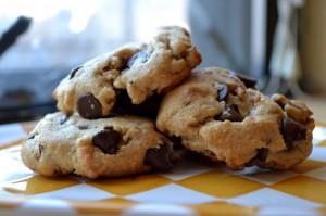 Bacon Chocolate Chip Cookies. Photo by Kelda Baljon