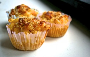 Macaroni and Cheese Cupcakes- by Kirby Barth