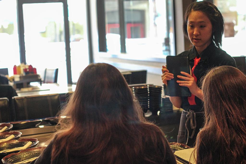 Todoroki Waitress: Dani Chung