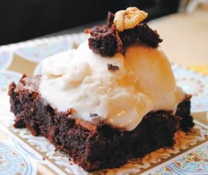 Flourless Brownie- by Annie Trimber