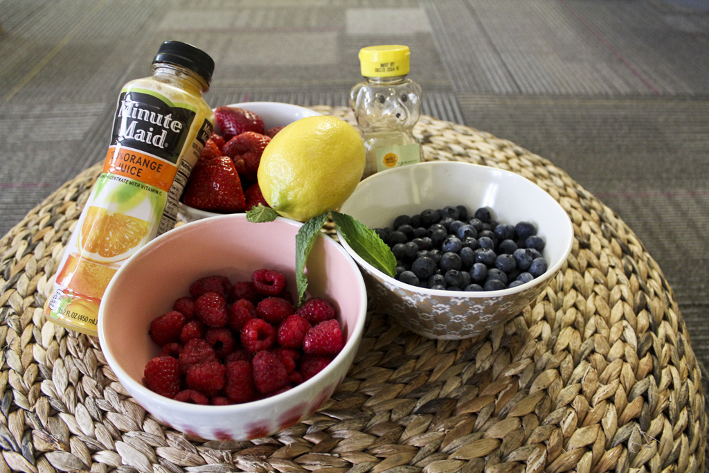 Simple Berry Salad