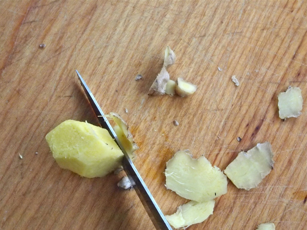 How to Peel and Grate Fresh Ginger
