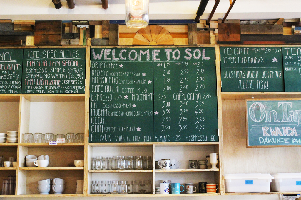 More than a Cup of Coffee: Sol Café