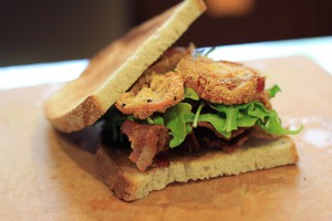 Fried Tomato BLT Sandwich- by Devon Carlson