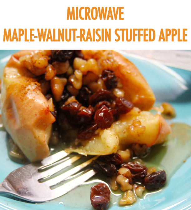 3 Easy Apple Desserts For One