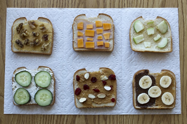 PB & J Alternatives