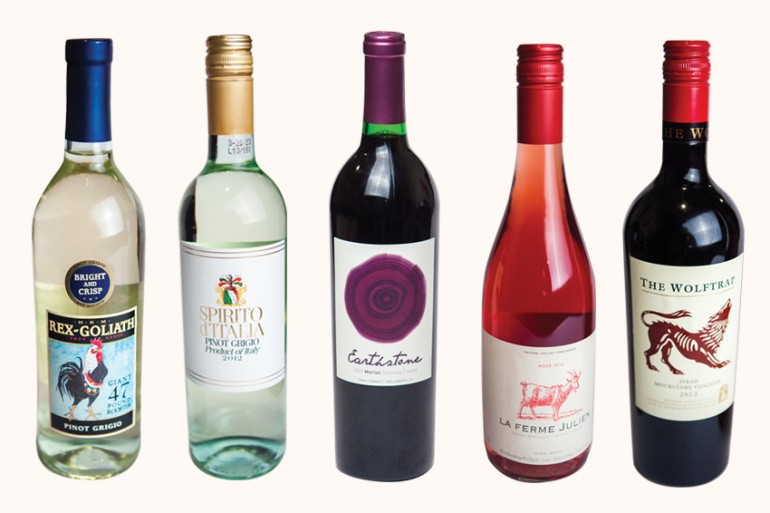 Five Great Wines Under $10