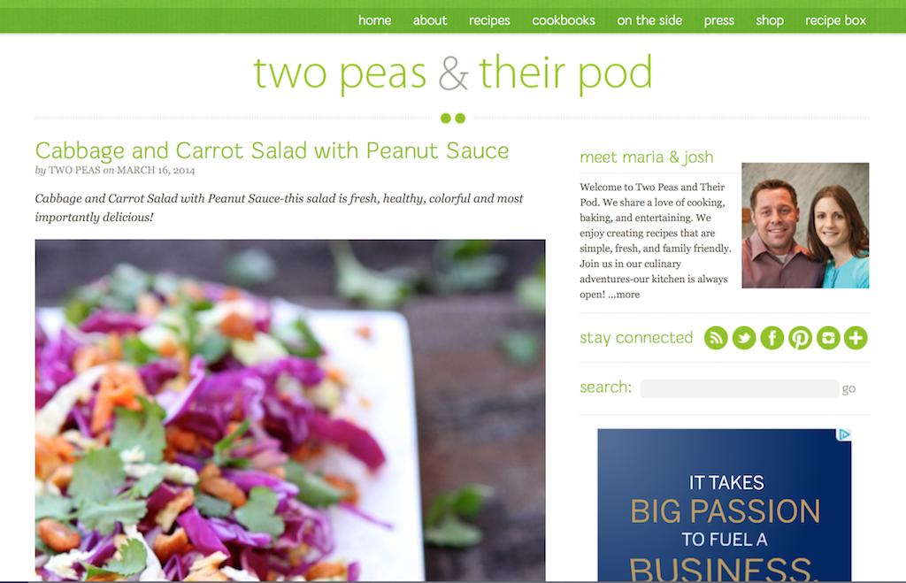 Photo Courtesy of Two Peas & Their Pod