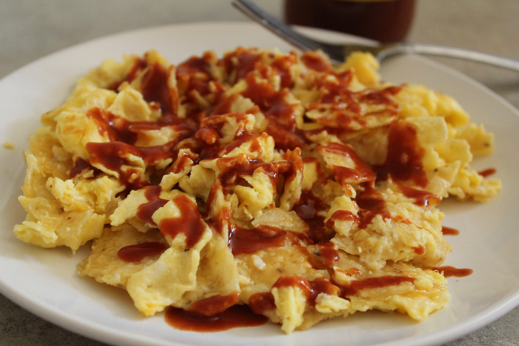 Homemade Chilaquiles with Just 5 Ingredients