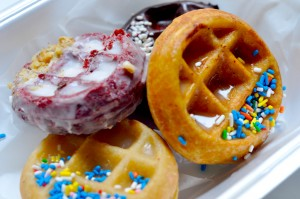 "Waffles Cafe Puts the ""Whoa"" in Wonut"