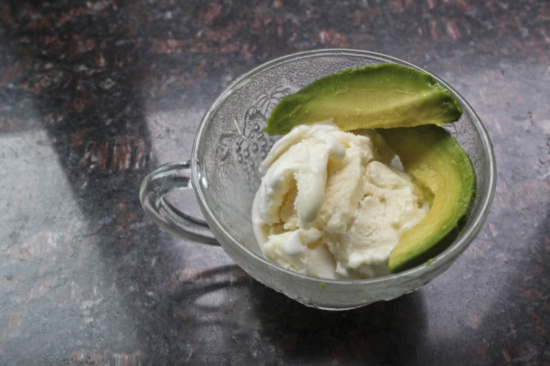 How to Turn Vanilla Ice Cream into Avocado, Basil and Bacon Ice Cream
