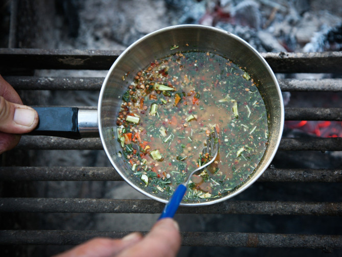 tsampa soup