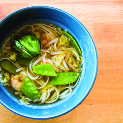 Seafood Doesn't Have to be Scary, and This Easy Shrimp Noodle Soup Proves It