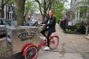 BrewBike Wants You to Buy Your Next Cup of Cold Brew From the Back of a Bike