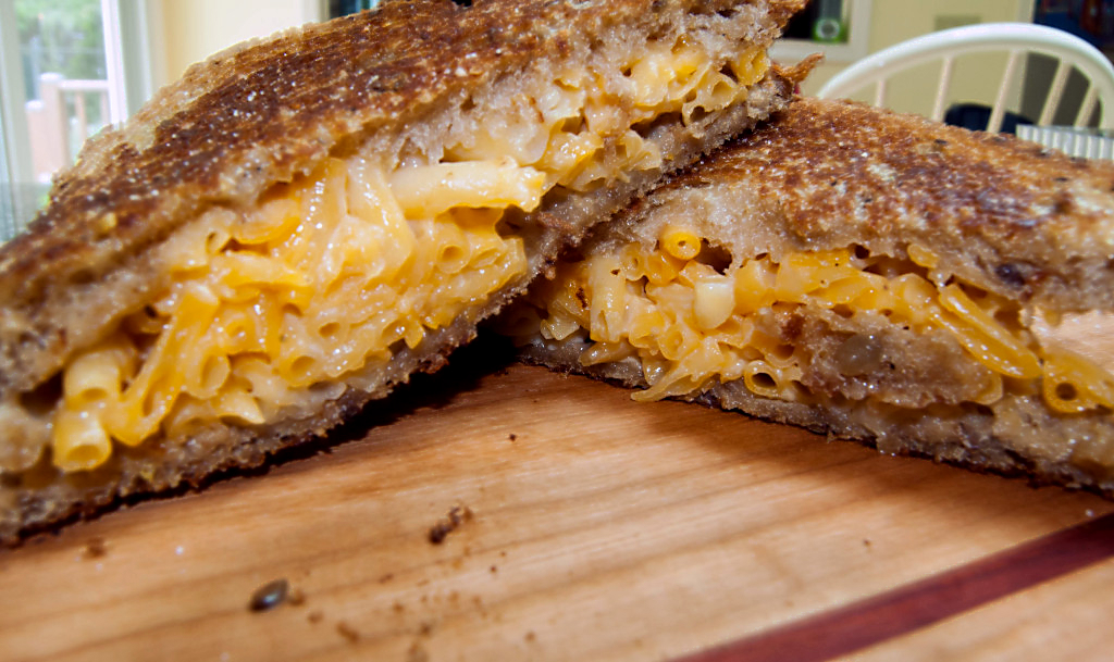 Take Your Sandwich to the Next Level with Grilled Macaroni and Cheese
