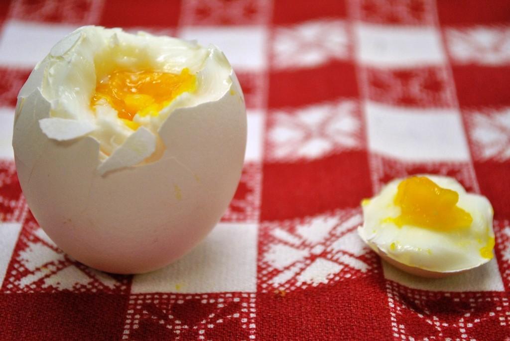 Похудеть на вареных яйцах