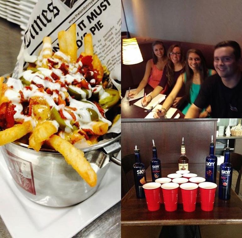 Landmark fries