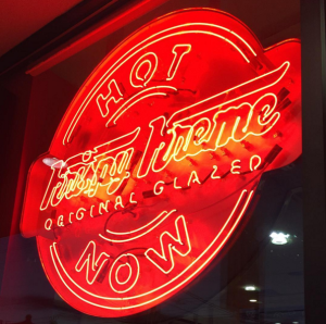 Photo courtesy of @krispykreme on Instagram