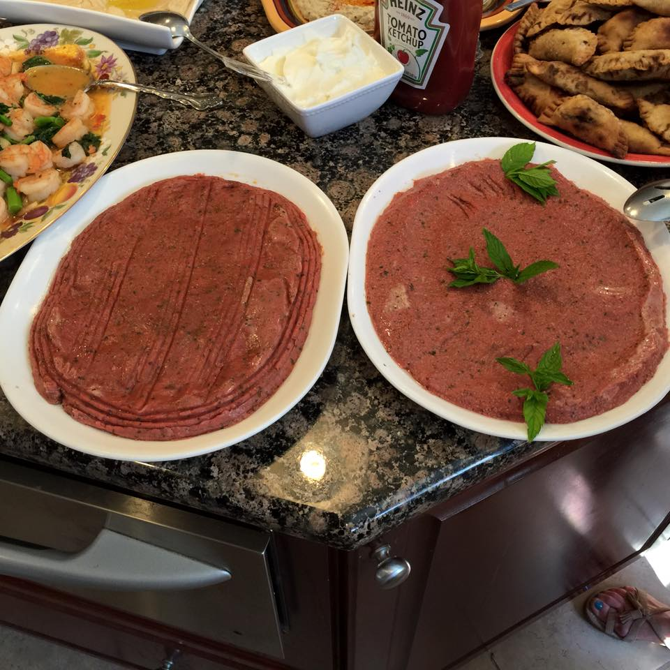 12 classic lebanese foods everyone needs to try 3 kibbe nayeh forumfinder Choice Image