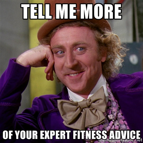 Tell me about your expert fitness advice