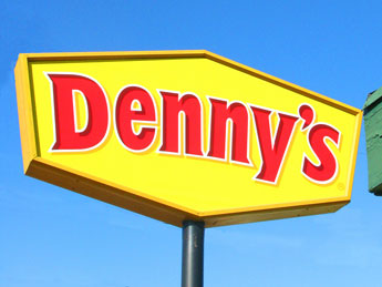 You are already at Denny's