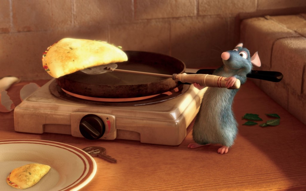 Ratatouille Remy Cooking Photo courtesy of