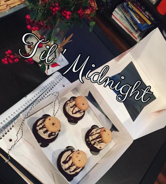 Clemson cupcake