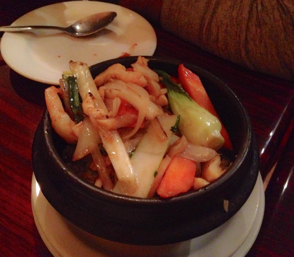 Claypot rice with chicken & prawns | Photo by Thuong Nguyen