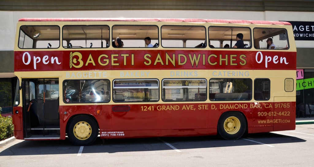 bageti sandwiches