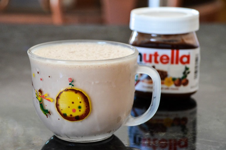 The Nutella Milkshake You Need to be Drinking Now