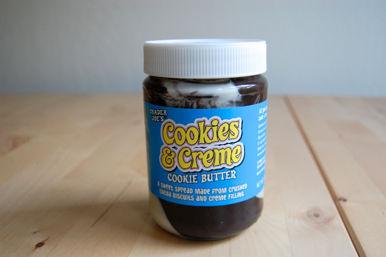 Trader Joes Cookies & Creme Cookie Butter