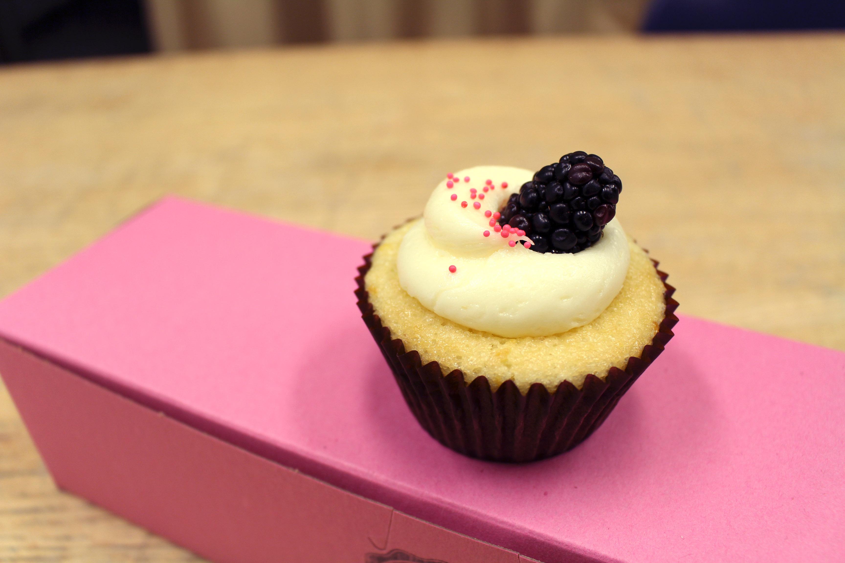 You are a Lemon Blackberry cupcake!
